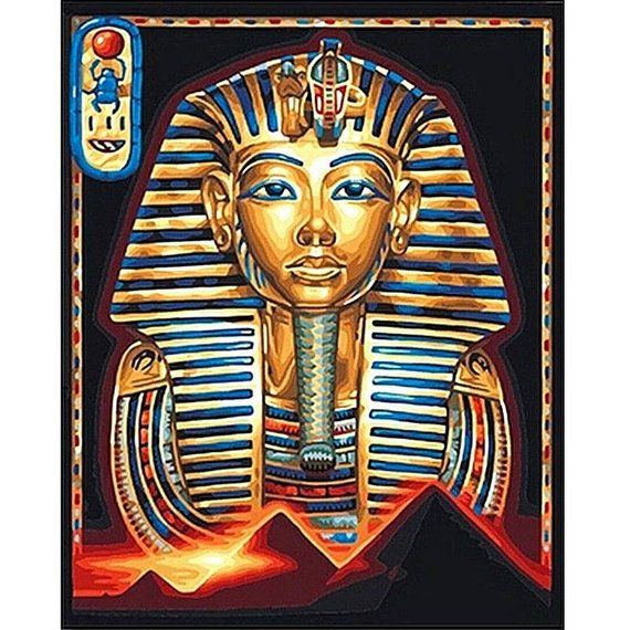 5D DIY Diamond Painting Egyptian Pharaoh Cross Stitch Full