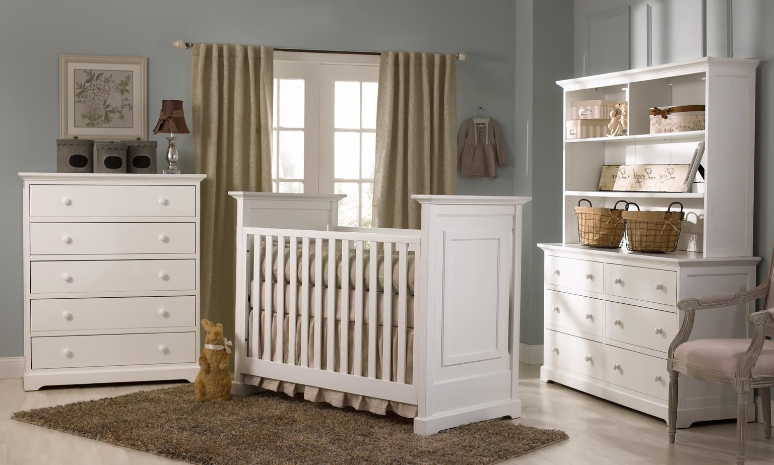 Bedroom Neutral Baby Nursery Ideas For Welcoming All