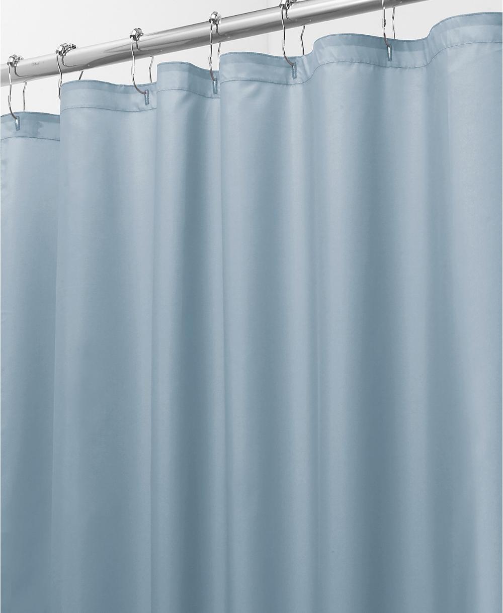 """Interdesign 2in1 72"""" x 72"""" Shower Curtain Liner"""
