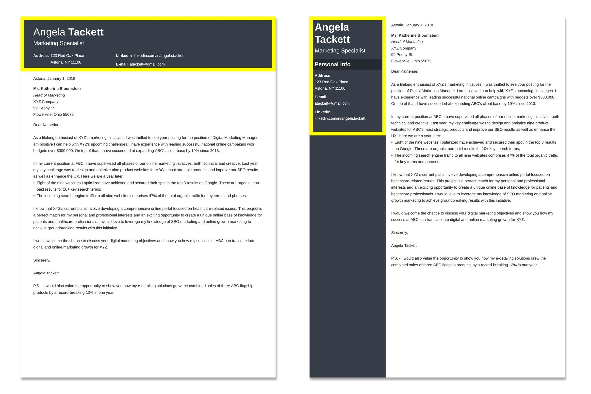 EntryLevel Cover Letter with No Experience Example