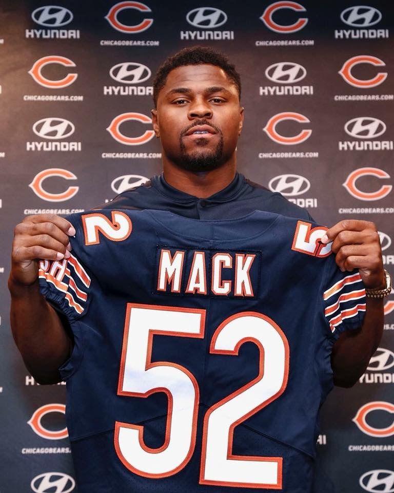 Khalil Mack Chicago Bears Football Chicago Bears Chicago Bears Wallpaper