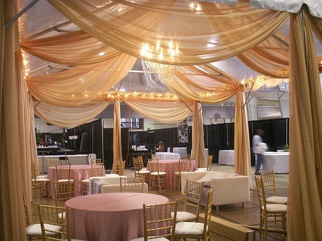 Backdrops and draping one stop party decor rentals san jose tent draping idea long corner drapes to mark dance floor junglespirit Choice Image