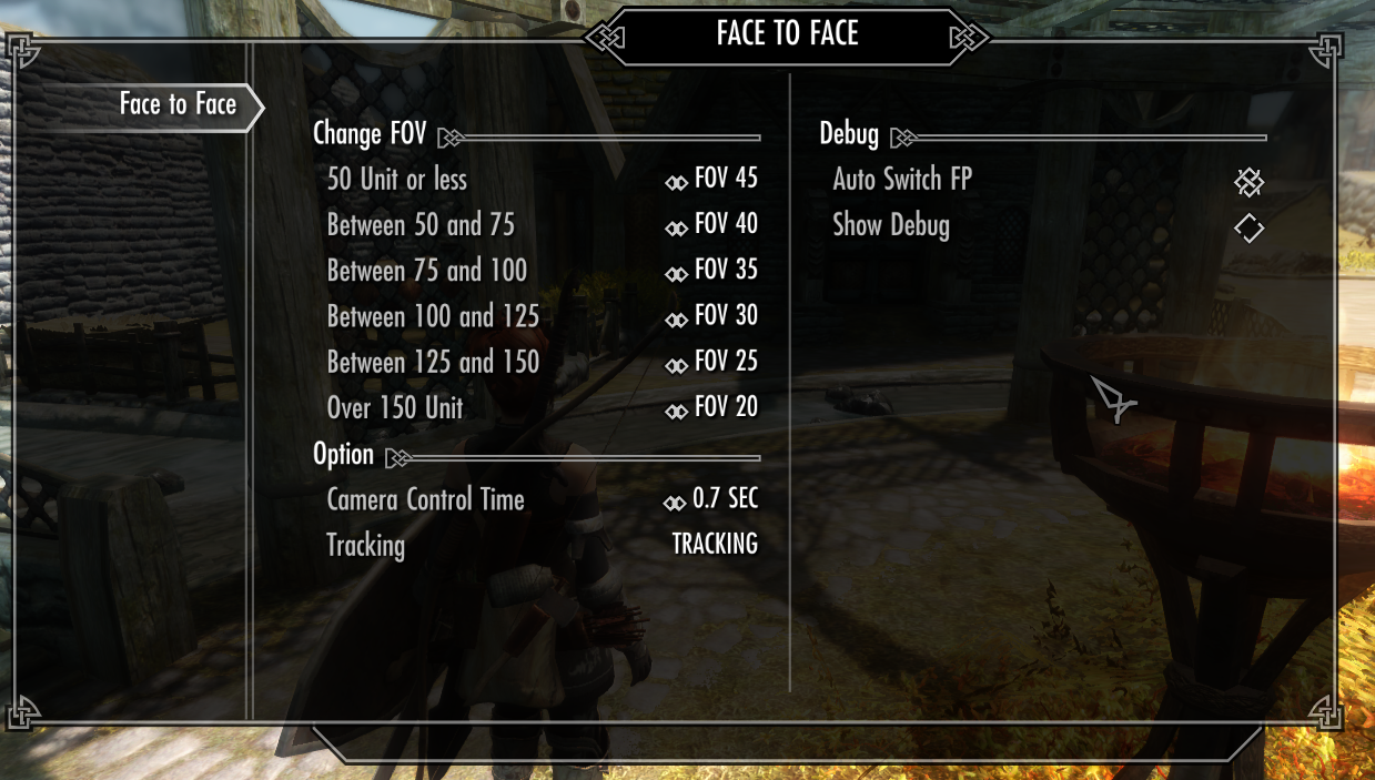 Face to face conversation at Skyrim Nexus - mods and