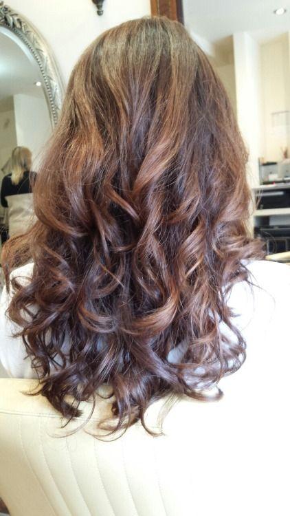 Medium Length Digital Perm Permed Hairstyles Digital