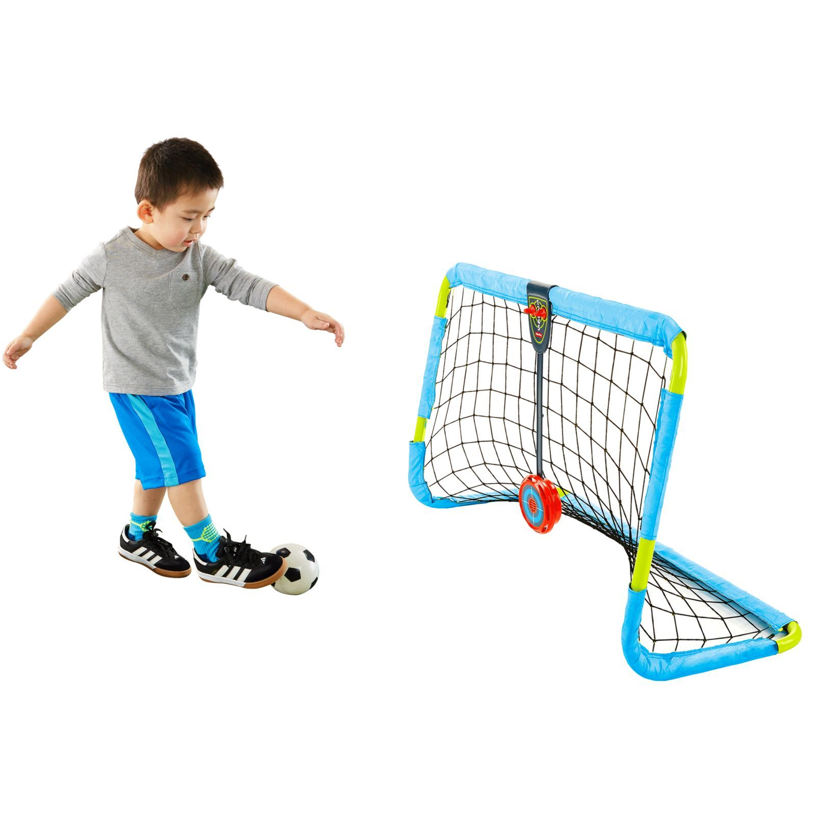 Fisher Price Grow To Pro Super Sounds Soccer Dtm21 Fisher Price Toddler Toys Sports Games For Kids Best Christmas Toys