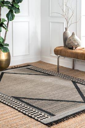 Rancherio Modern Minimalist Indoor Outdoor Gray Rug In 2020 Minimalist Rugs Rugs Usa Outdoor Rugs