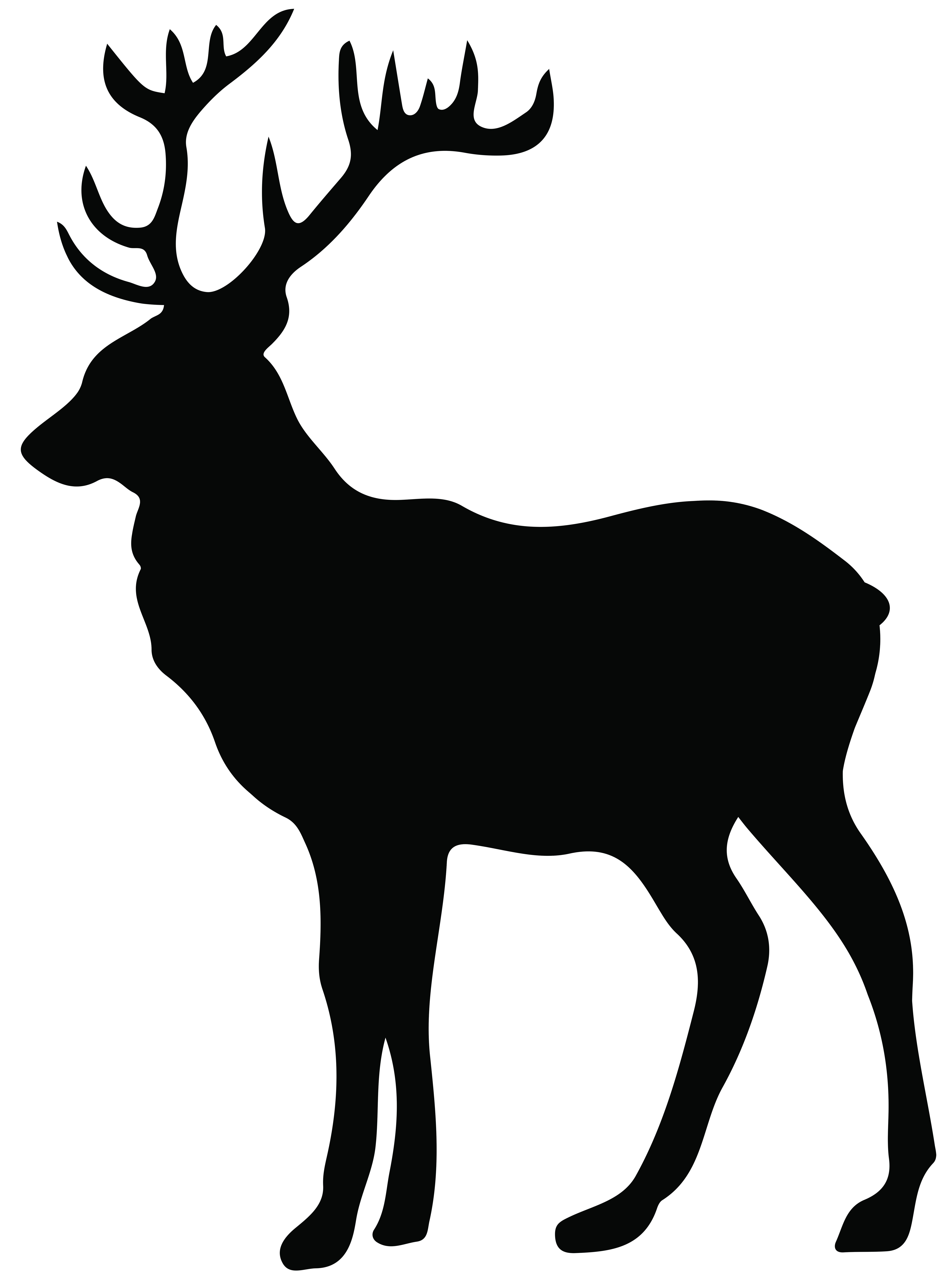 Stag Silhouette Png Transparent Clip Art Image Animal Silhouette Silhouette Art Deer Silhouette Printable
