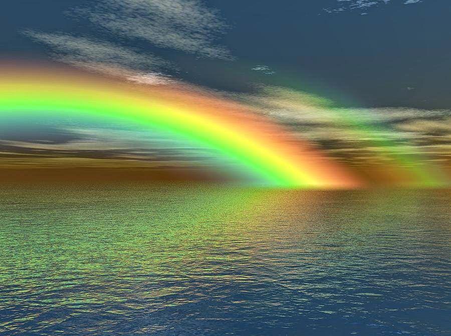Beautiful Rainbow Wallpapers Free Download Dengan Gambar