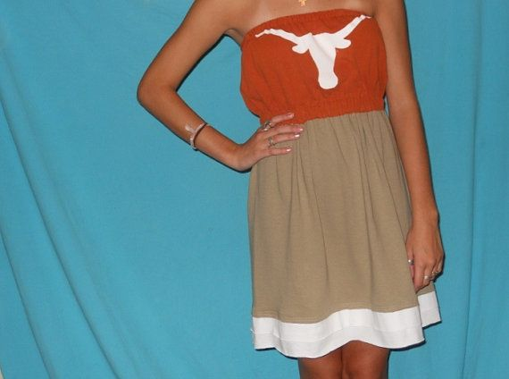 Game day dresses longhorn football