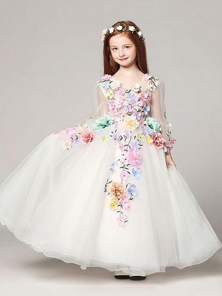 Hermoso Vestido Vestidos De Fiesta Para Niñas Vestidos