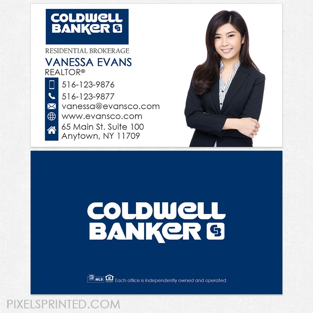 The Charming Coldwell Banker Business Cards Business Cards In 2019 Inside Coldwell Banker Busin Realtor Business Cards Business Plan Template Coldwell Banker