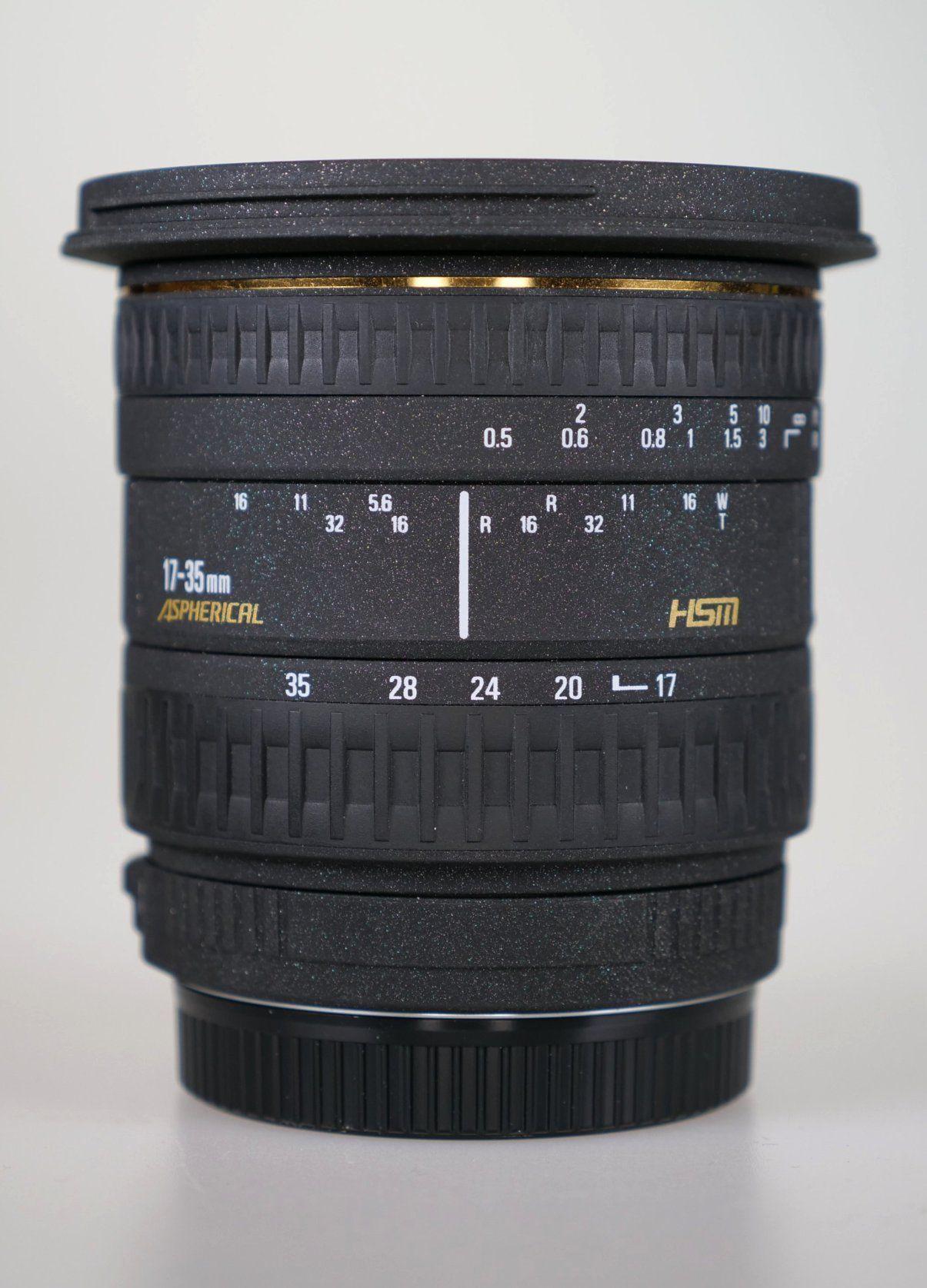 Used Sigma 17 35mm F2 8 4 Dg Ex Hsm Canon Mount Supplement Container Sigma Camera