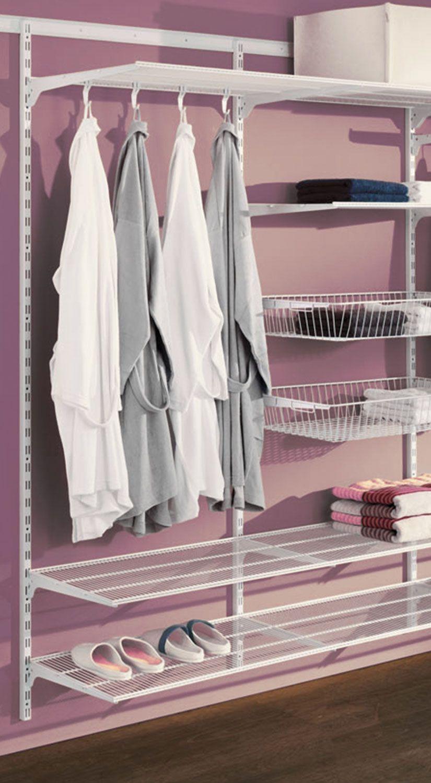 Begehbarer Kleiderschrank Weiß – Einfach Gelöst – Simple Montage