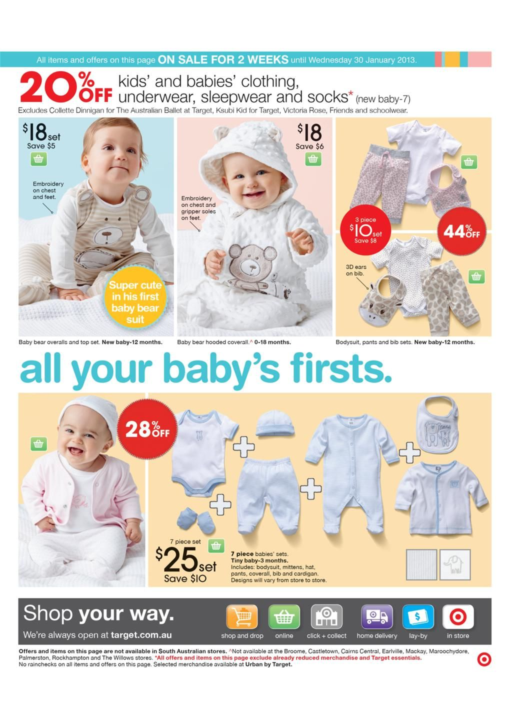 Target Catalogue - Baby First Sale, Kids And Babies Clothing ...