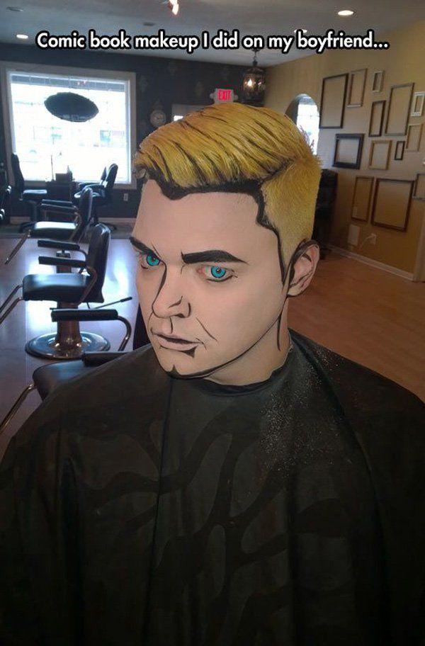 45+ Examples of DIY Halloween Makeup | Black face paint, Character ...