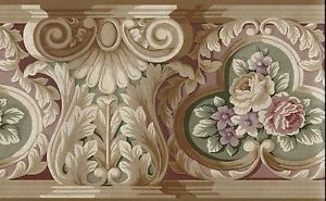 Victorian Rose Wallpaper Border Details about VICTORIAN