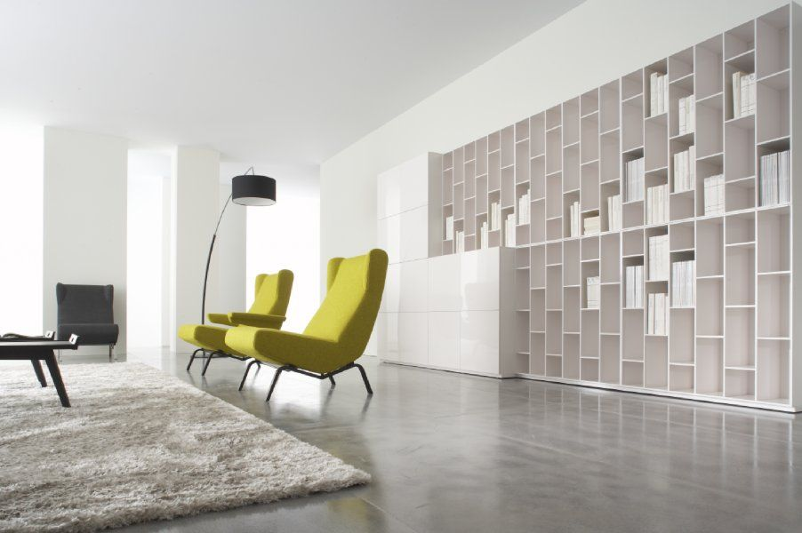 ligne roset book and look a collection of storage associating shelving d28 chests with doors. Black Bedroom Furniture Sets. Home Design Ideas