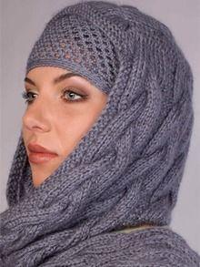 Необычный головной убор. #bonnets
