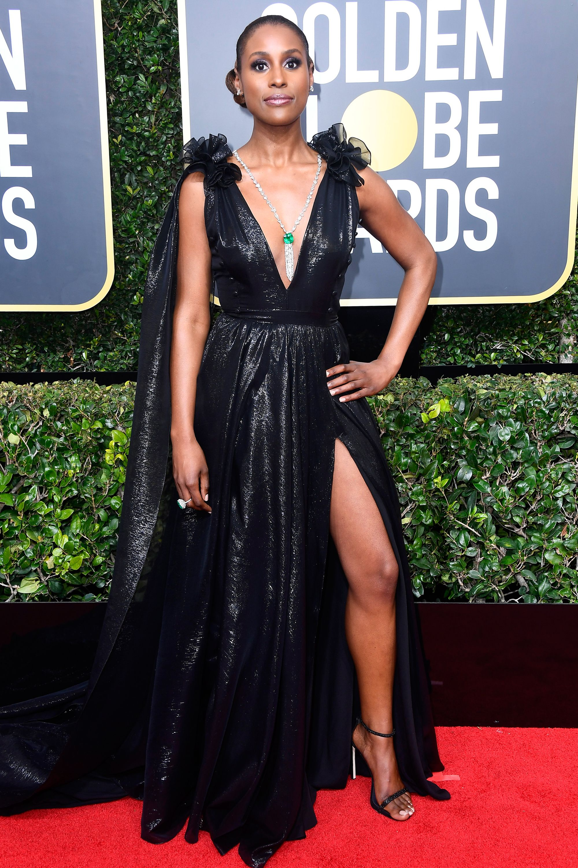 b27e2d31 All the Glamorous 2018 Golden Globes Red Carpet Arrivals | Issa Rae ...