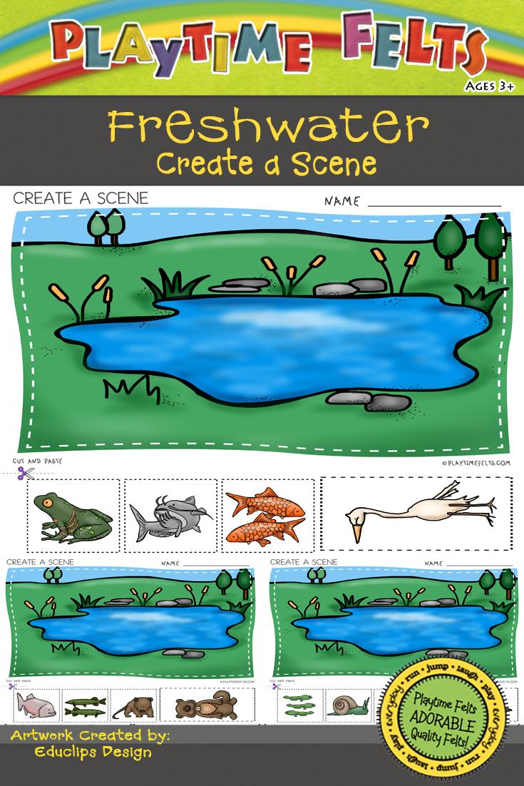 Freshwater Habitat Worksheets For Preschool Preschool Letter Sound Activities Water Animals Preschool Fresh Water [ 1102 x 735 Pixel ]