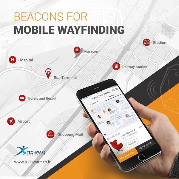 Hire Top Beacon App Developer for your Beacon Wayfinding