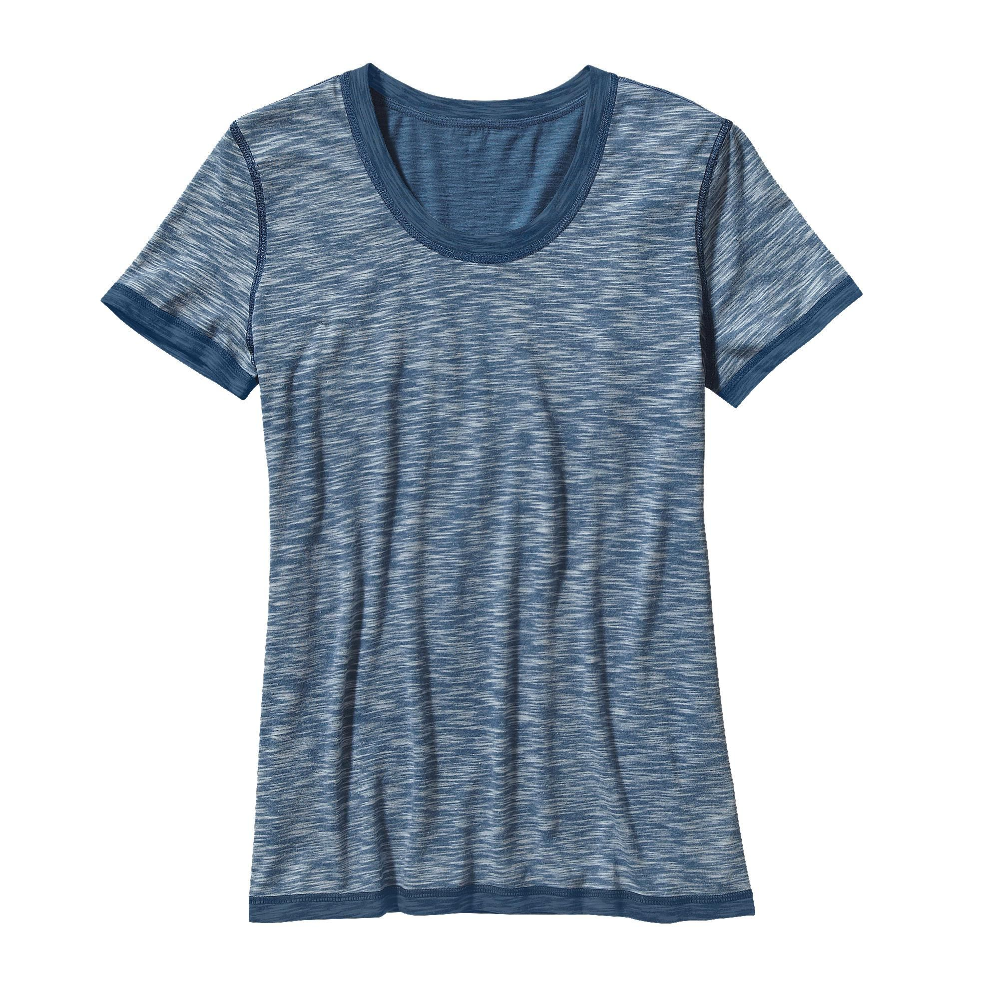 c492437e3b5b The Patagonia Women s Reversible Slub Knit Tee is made of our  lightest-weight knit. Slip on this cool-wearing tee and freshen your look.