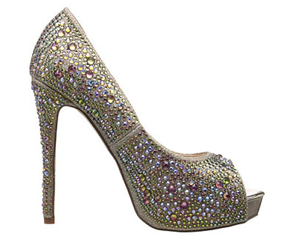 http://www.bellissimabridalshoes.com/trends/platform-wedding-shoes/High-Heel,Slingback,Pump  Candy by Lauren Lorraine.These are gorgeous eye candy peeptoe shoeswithbling to make you feel special onyour big&n