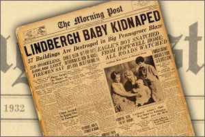 Image result for lindbergh kidnaping newspaper articles