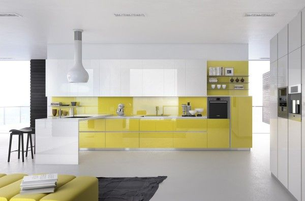Gorgeously minimal kitchens with perfect organization