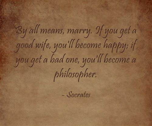 Socrates Quotes On Marriage: Www.weddingsandwhatnot.com #marriage #philosophy #Socrates