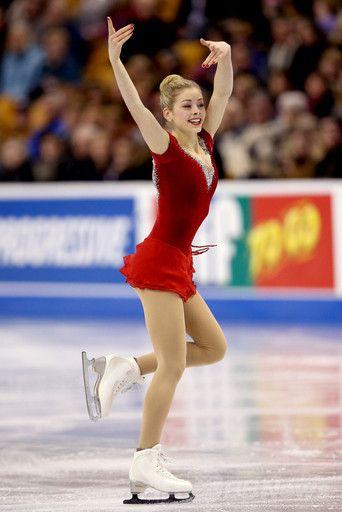 Gracie Gold Figure Skating Moves Figure Skating Gracie Gold