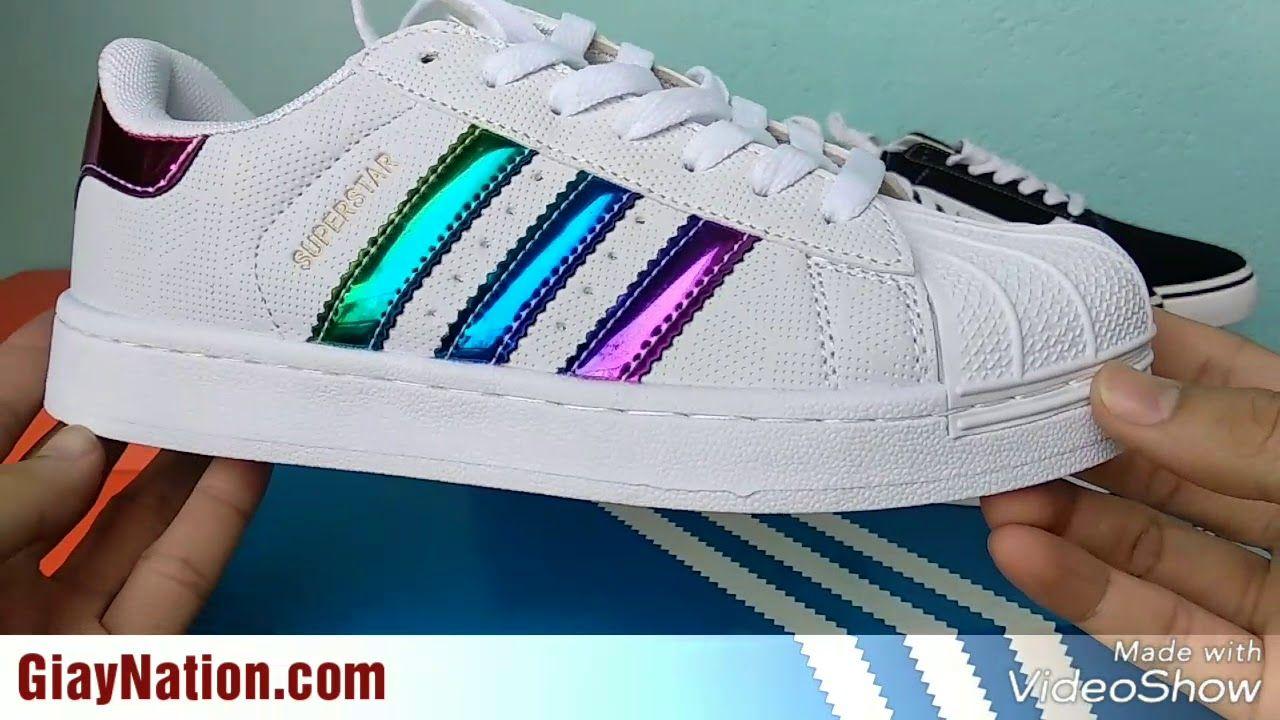 Giay Adidas Superstar Rainbow Giay Nation Decoracao Banheiro