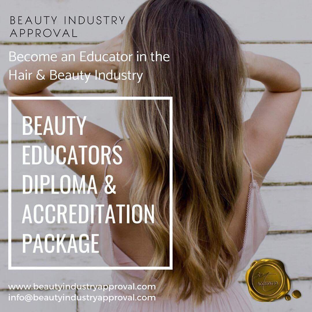 Become An Educator With Our Educators Package This Package Includes The Beauty Educators Diploma Training Accreditation Gain A
