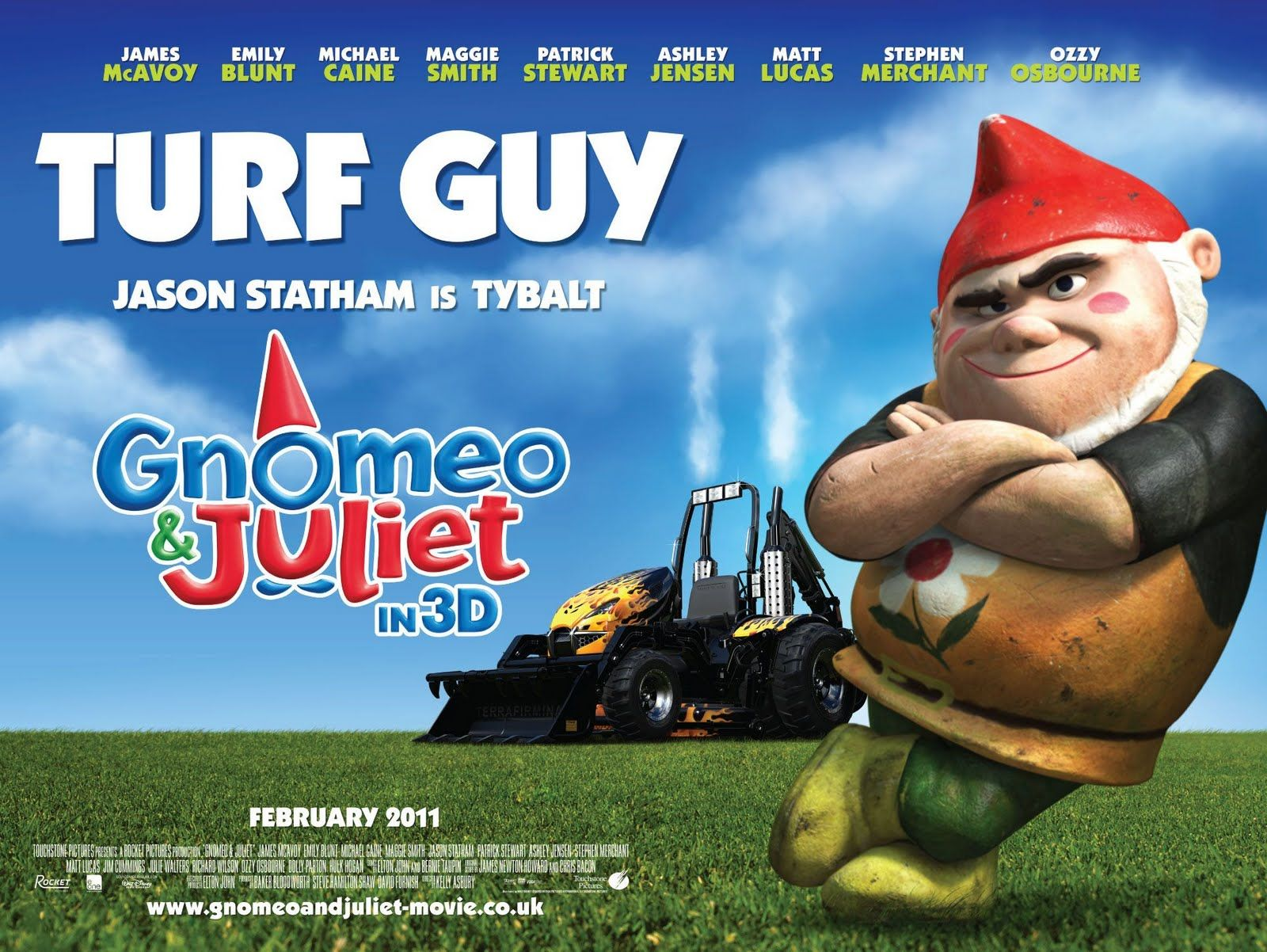Gnomeo And Juliet Character Poster
