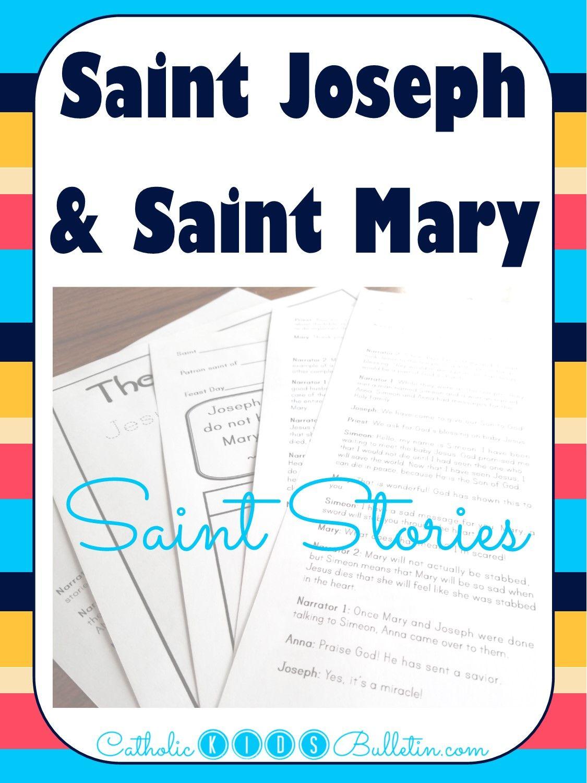 Catholic Kids Bulletin Saint Stories Reader Theater Style