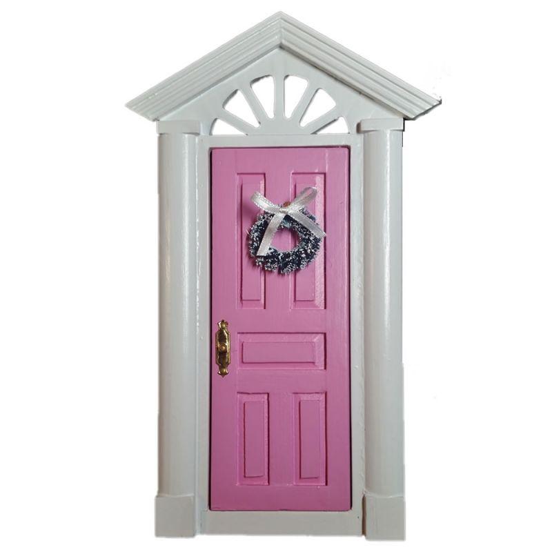 Elf-Door-Elf / Fairy Pink Pink with loose-fitting Pink
