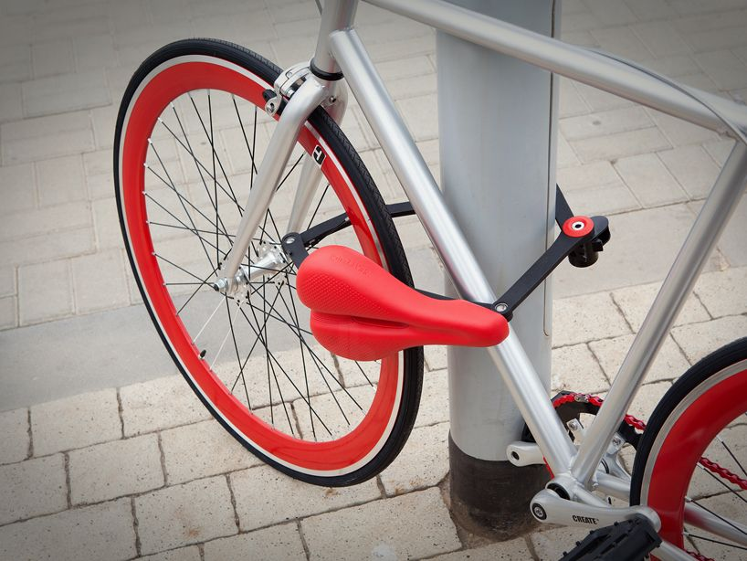 Seatylock Ultra Innovative Bicycle Lock And Saddle All In One