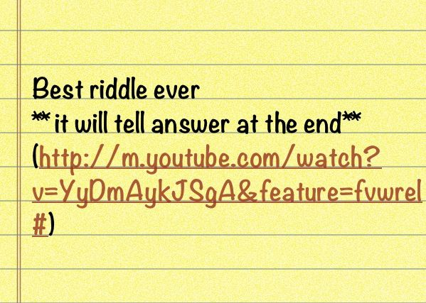 Type Of Enigma Hardest Riddle And Answer