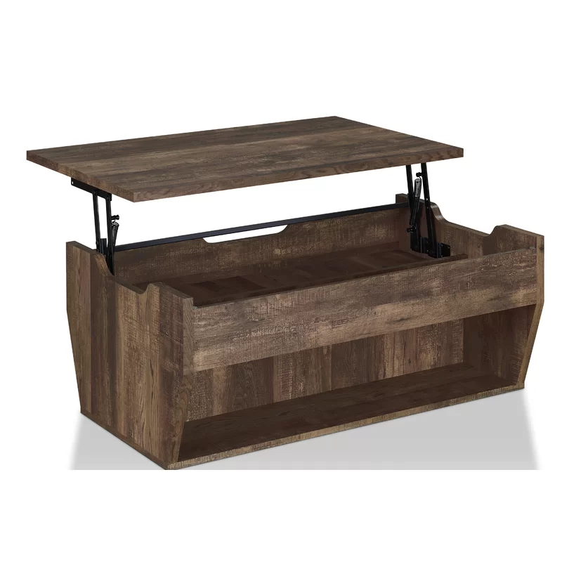 Macsen Edwards Lift Top Coffee Table With Storage Coffee Table