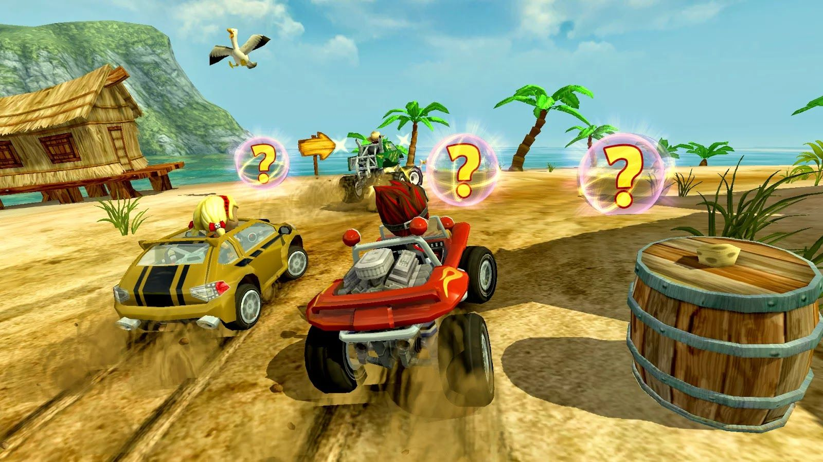 Game Beach Buggy Racing Apk Mod Premium Unlimited Money