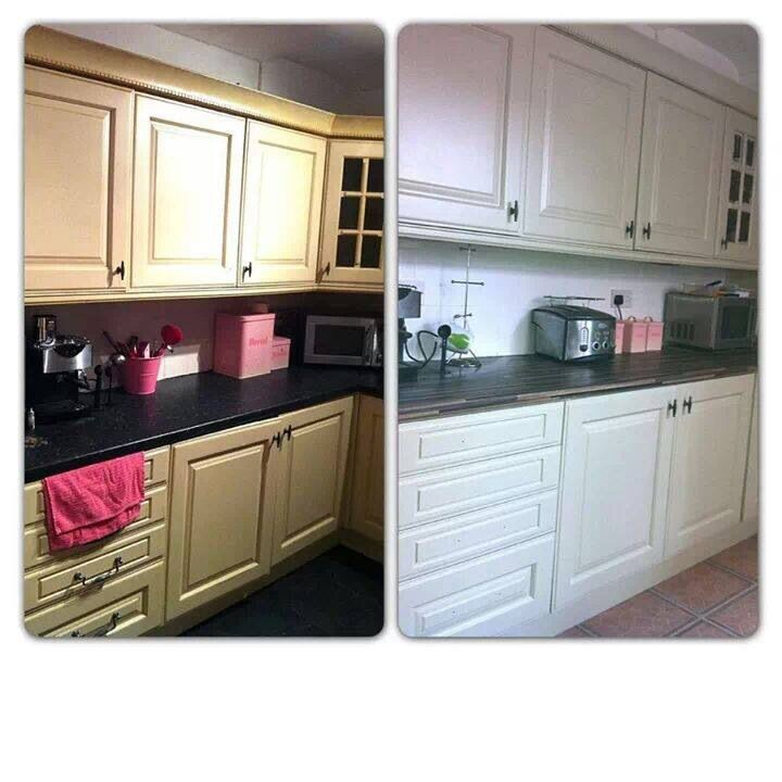 Best Kitchen Number 6 Before And After In Farrow And Ball Bone 400 x 300