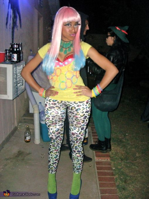 Nicki Minaj Costume - nicki minaj halloween ideas