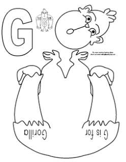 Pin on Letter G Activities