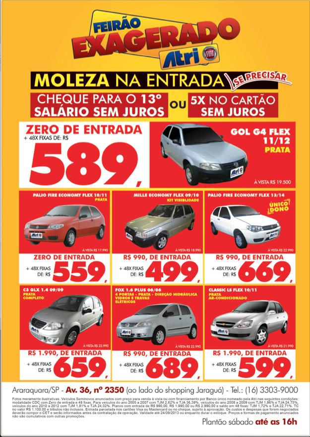 Pin Em Promocoes Atri Fiat De 18 09 2013 A 25 09 2013