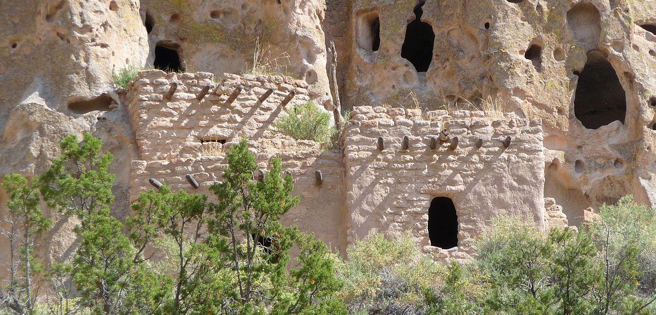 Bandelier National Monument | File:Bandelier National Monument in September 2011 - Cliff Dwellings ...