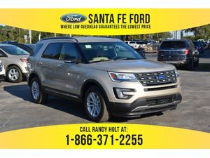 2017 White Gold Metallic Ford Explorer Xlt 378511 With Images
