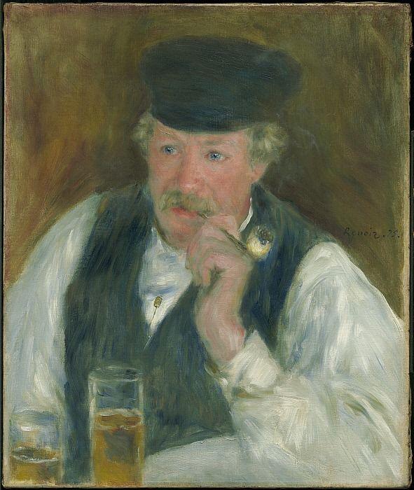 Pierre-Auguste Renoir - Père Fournaise, 1875. #arte