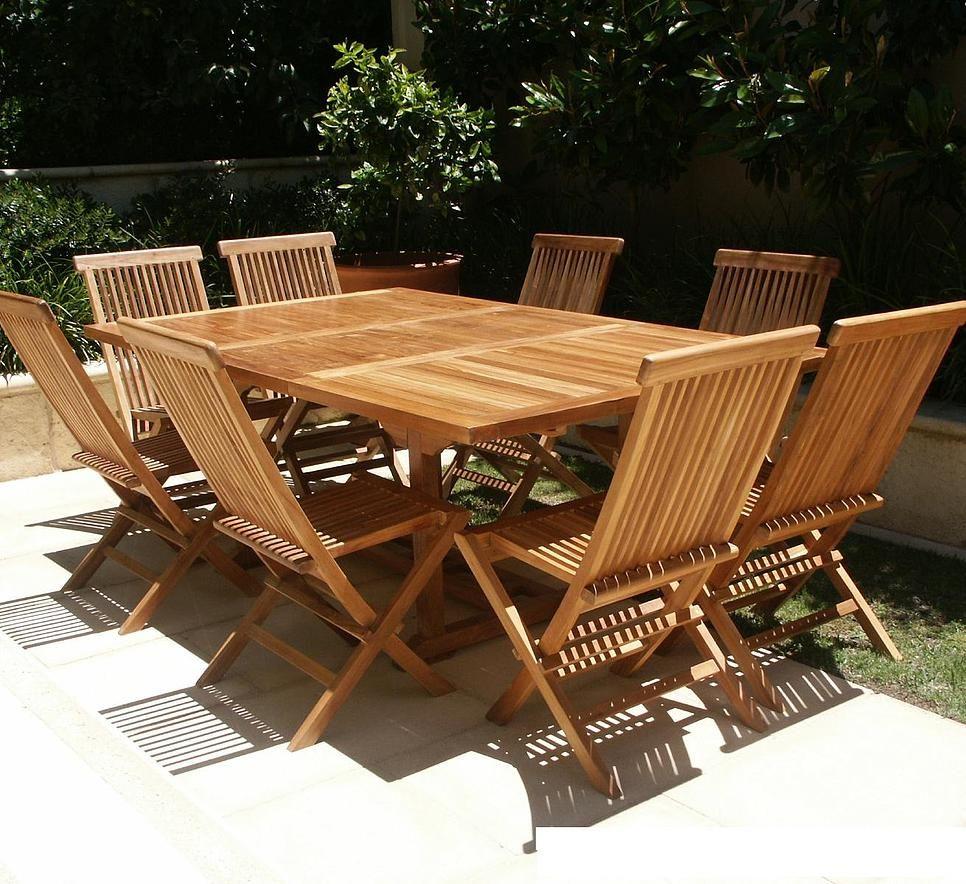 ExteriorVarnished Teak Outdoor Farm Table Also Teak
