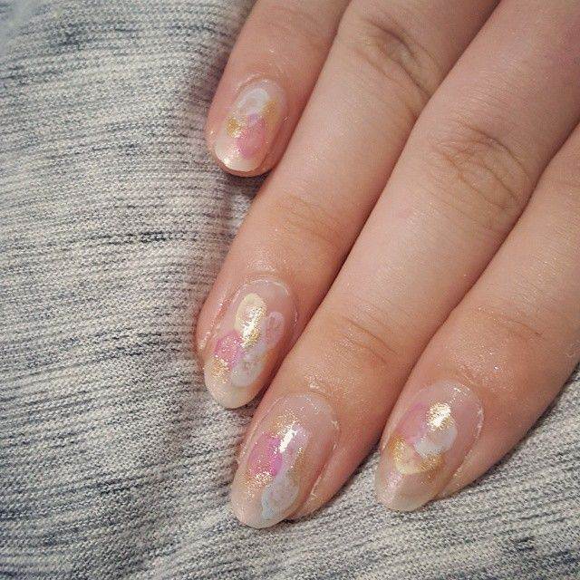 水彩ネイル Watercolor Nail