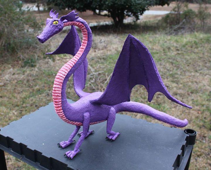 Purple Dragon - sold
